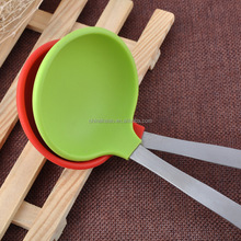 Factory Food Grade Silicone Non-stick Safe Rice Soup Spoon Ladle