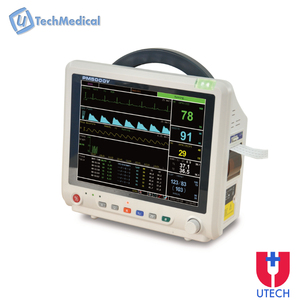 UTECH PM5000 Ambulance patient monitor with Printer