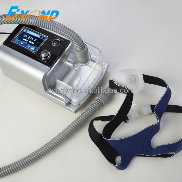 autocpap with nasal mask and hose