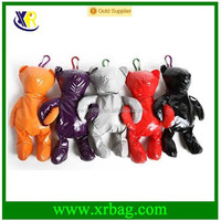 polyester foldable shaped toy with bag inside shopping bag