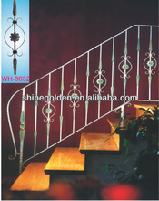 Sweet Home Decoration Wrought Iron Stair Railing