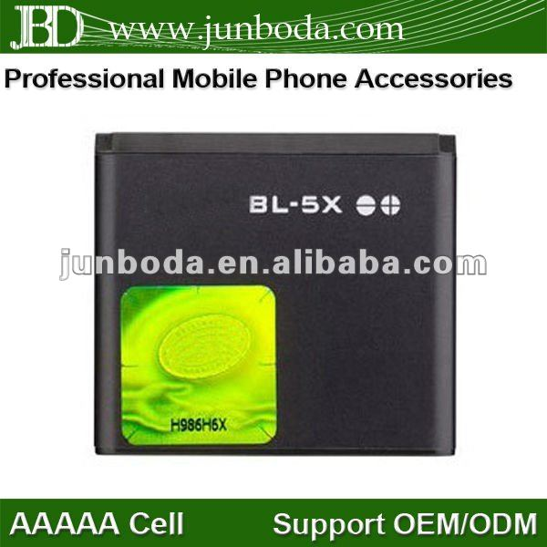 BL-5X Cell Phone Battery FOR NOKIA SIROCCO 8800 8860 8801 N73 8600