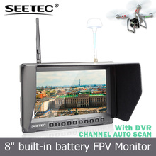"8"" Portable DVR Car reversing aid Monitor for Wireless camera security system PVR821"