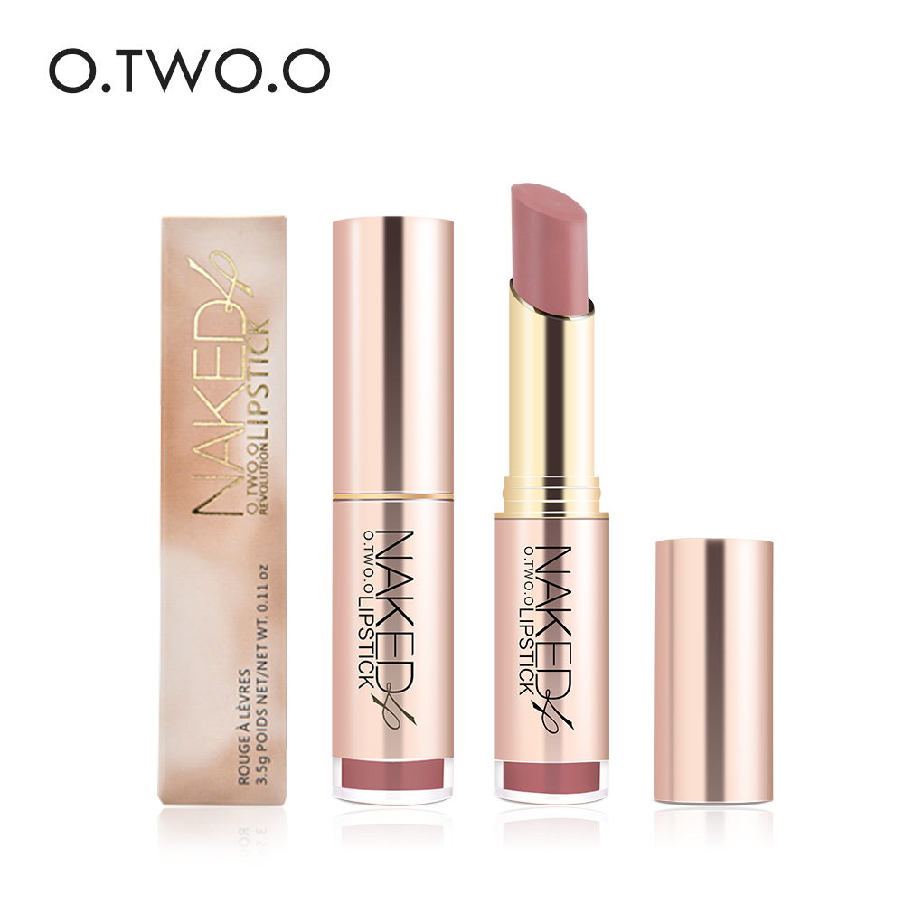 2017 New High Standard <strong>O</strong>.TWO.<strong>O</strong> Lipstick Makeup Private Label Matte Lipstick