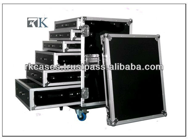 RK utility trunk road case,storage box ,drawer road case