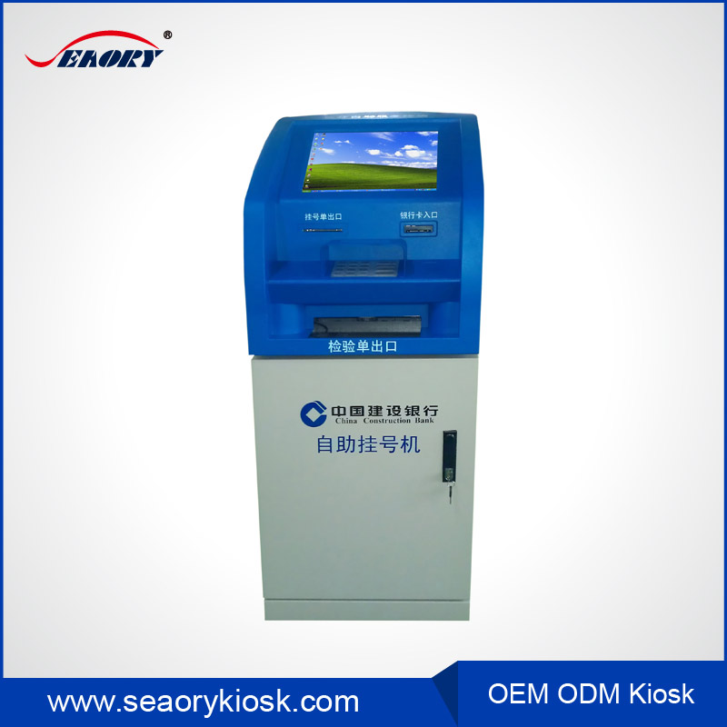 coin-operated kiosk with printer,hospital self-service kiosk,wifi internet kiosk with photo printing
