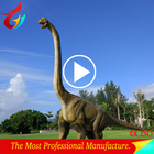 Simulation Fiberglass Dinosaur of Dinosaur Model
