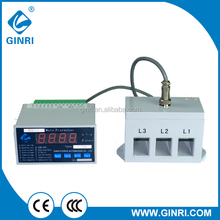 GINRI WDB-1F Digital Motor Protector Digital Protection Relay over voltage under voltage relays 220v 380v