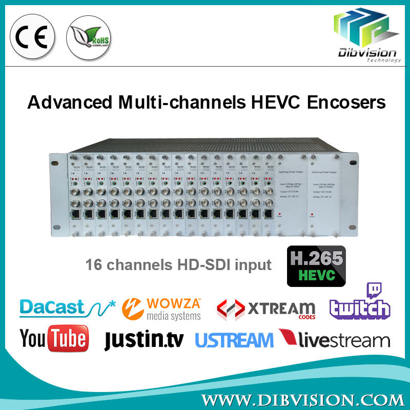 Low cost HD-SDI/HDMI in video encoder h265 hdmi streaming encoder