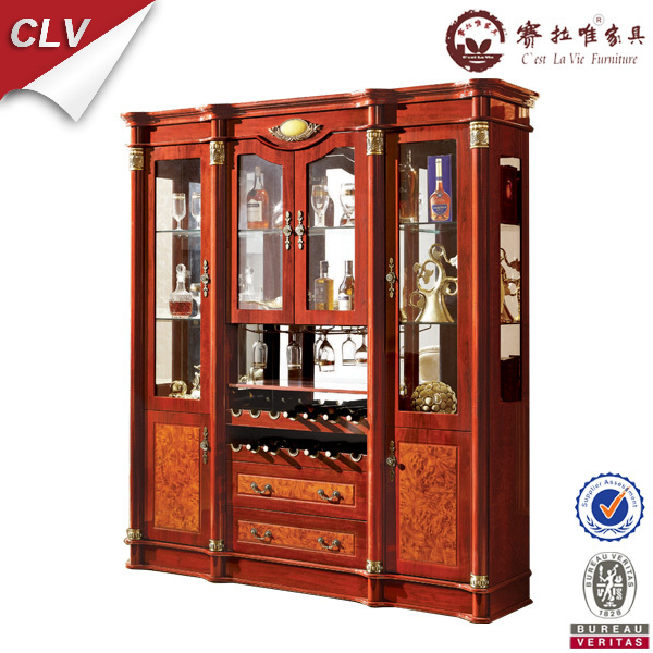 Storage cabinet of wood whisky display cabinet for living for Wooden showcase designs for dining room