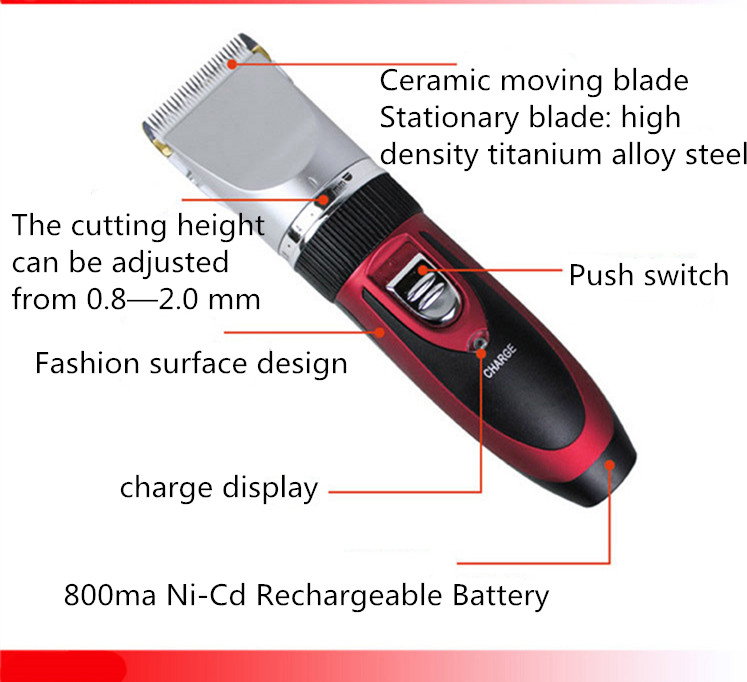 Wholesale custom best electric automatic fast long life animal pet dog horse sheep hair cutting machine