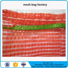 strong pp woven onion potato mesh produce bags with factory price