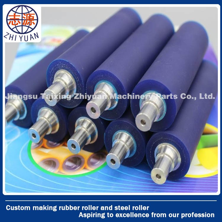 High quality Polyurethane raw material PU Rubber Roller