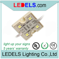 0.96W 5050smd*4 led modules led signage lighting 5050 smd led 4 5050 led module sign led light
