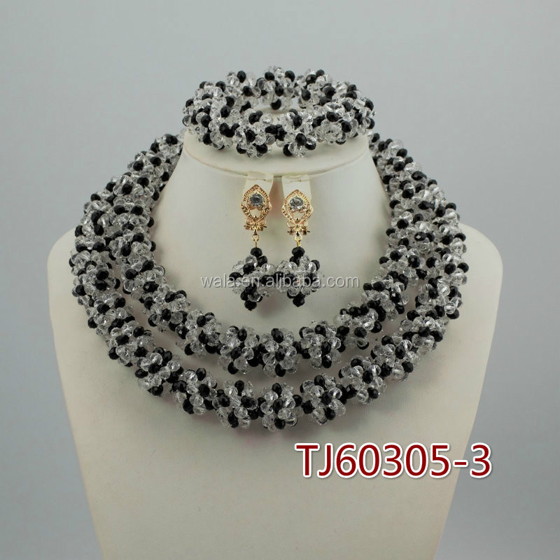 Tj60305-3 2016 Latest Bead Necklace Fashion Colorful Crystal ...