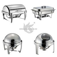 Luxury 9L Party Food Warmer Container Chafing Dish Parts
