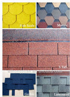 colors 3-Tabs Asphalt Shingle