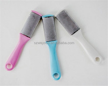 Flat Mental Pedicure Foot Rasp Dead Skin Remover Sanding Pumice Grinding Feet File Care Tool