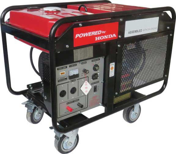 AC Single and 3 Phase 10KW Gasoline Generator 220V with Honda Engine