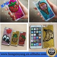 Moving Liquid Glitter New Case Cover For Iphone 6
