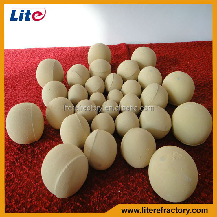 Wear Resistant Hollow Alumina Ceramic Ball with 92% 95% Al2O3