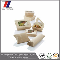 Custom disposable carton food box,fastfood packaging