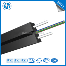 Indoor 2 Core FTTH Single Mode Fiber Optic Drop Cable