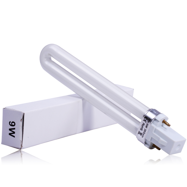 9W U Shape UV Led Bulb For UV Nail Lamp