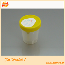 clear Vacuum Urine collection cup 100ml