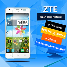 Excellent Transparency Beautiful Appearance Perfect Match For ZTE Series Mobile Phone 9H Hardness Tempered Glass Screen Protect