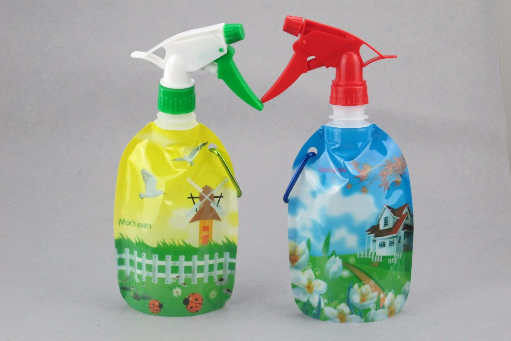Sprinkle water bottle/ High Quality Garden Plastic Spray Water Bottle