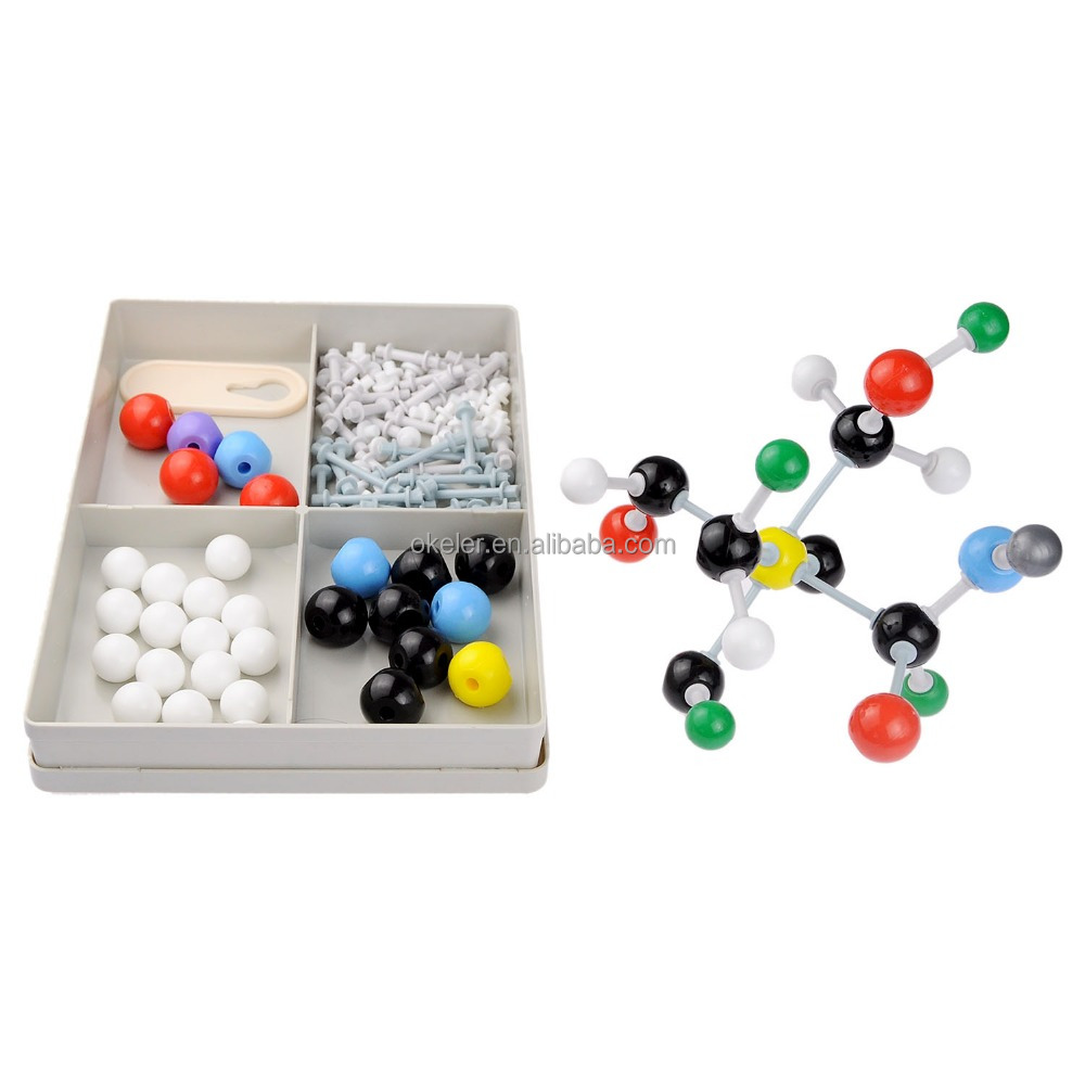 2016 OEM University High School Teacher Use Chemistry Plastic Atom Molecular Model Set