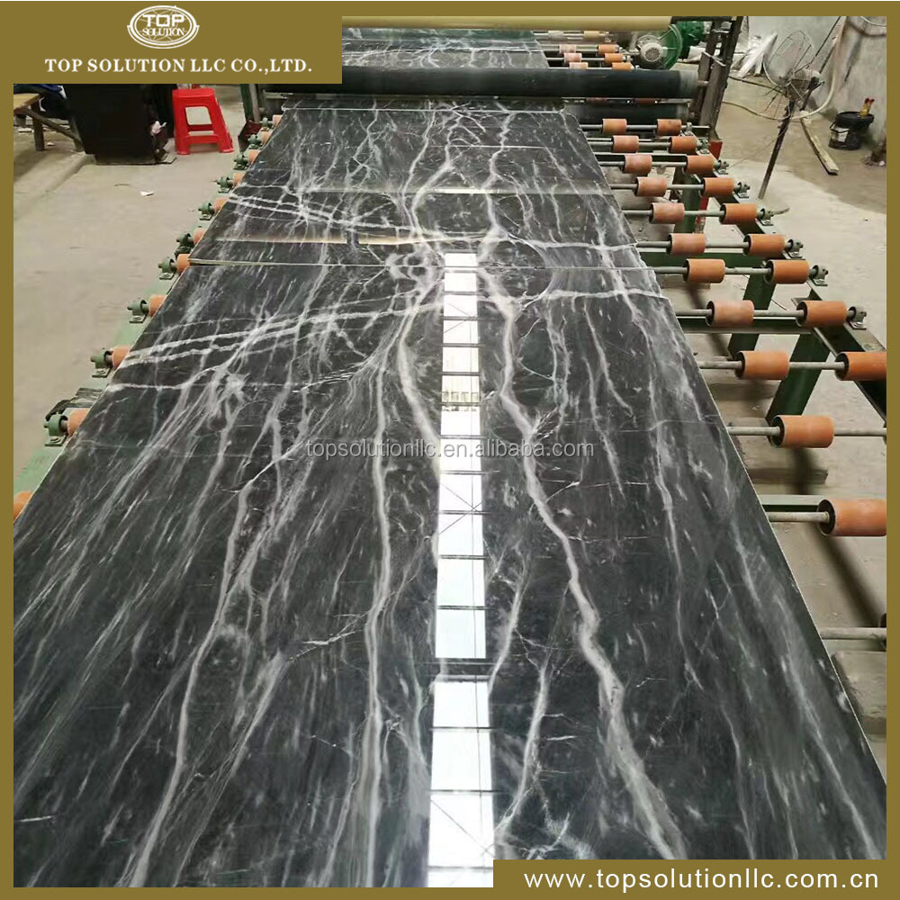 Chinese bossy grey marble tile and slab with beautiful natural veins