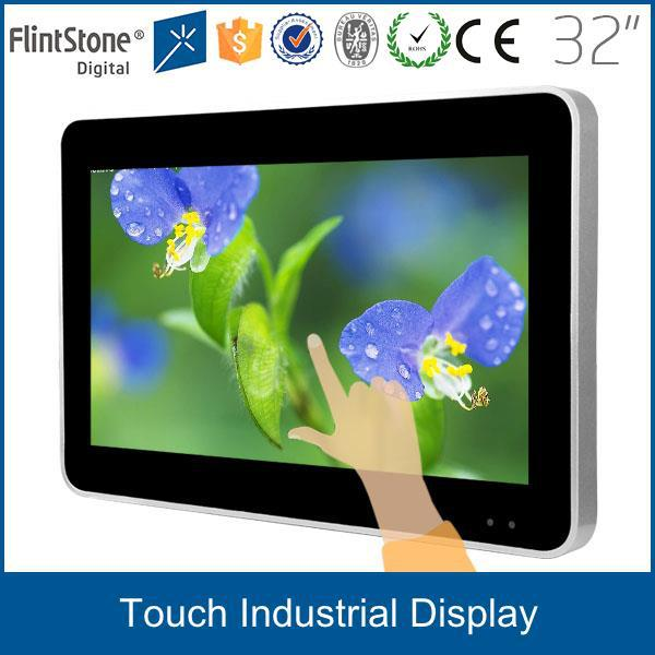 FlintStone food ordering machine use 32 monitor computador/monitor lcd usado touch screen monitor