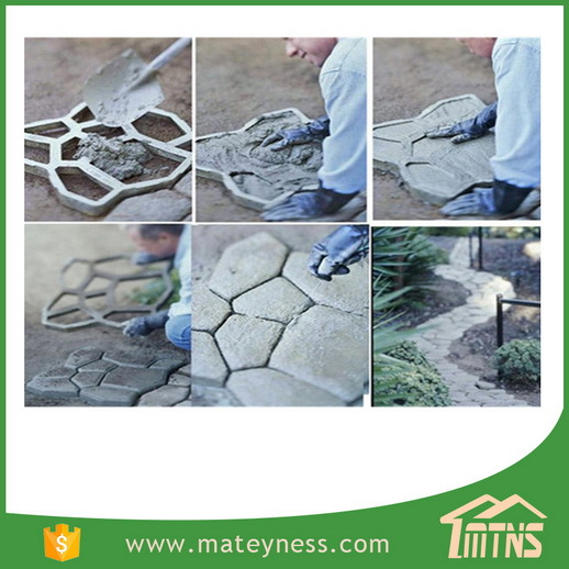 DIY Garden Pathmate Random Pavement Mold