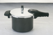 Aluminium Pressure Cooker with black body