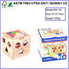 new design wooden 3d Building blocks Plan Toy Geometry Shape and Sort It Out for kids