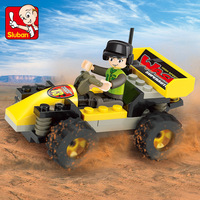 china sluban manufacturer off road go karts brick toys products free sample for kids