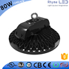 Industrial design UL CE CB list 80W industrial led round low bay lighting with 7 years warratny