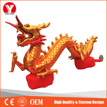 Giant inflatable Chinese dragon for new year