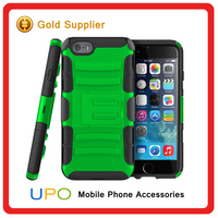 [UPO] New Products Rugged Armor Combo Defender Hybrid Case Back Cover Kickstand Protect Case For iPhone 6