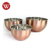 Copper Plated Stainless Steel Mixing Bowl