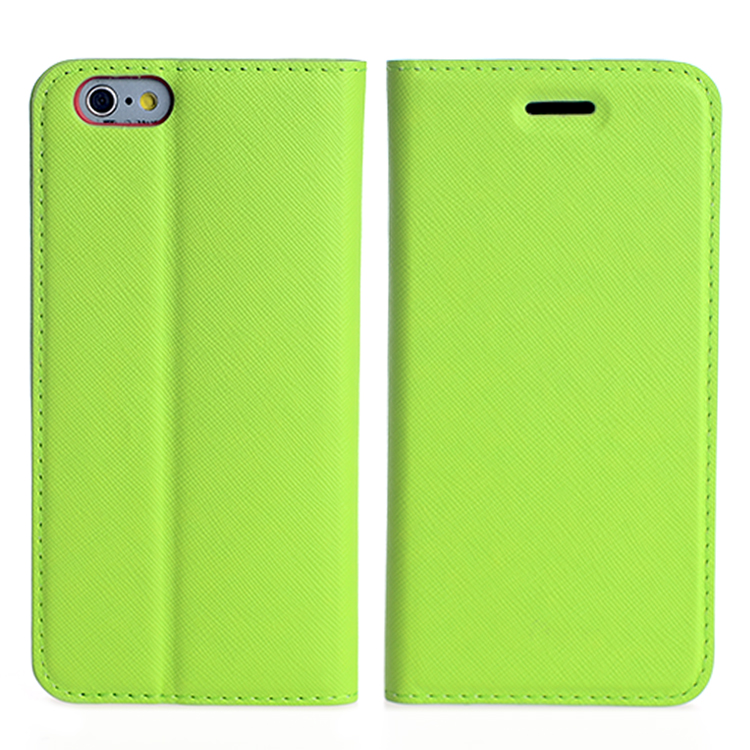 1card slot colorful PU leather case for Apple iphone 6 4.7""