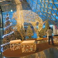 Christmas decoration outdoor led deer light up christmas reindeer