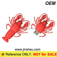 Wholesale Bulk 1GB Lobster USB Flash Thumb Drive