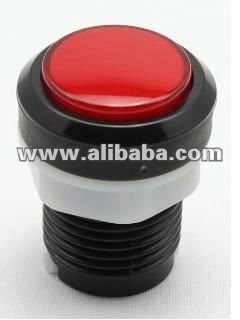 Arcade Video Game Round Push Long Button with Lamp led illuminated
