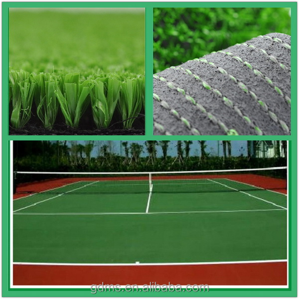 Easy installation Natural artificial synthetic grass carpet turf used for tennis basketball court