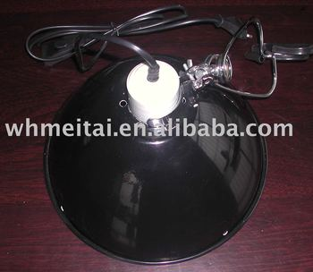 10.0'' comfort clamp lamp for reptile use .