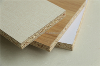 high quality 10mm waterproof particleboard / melamine chipboard / raw chipboard for furniture from China