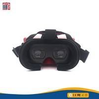 High quality virtual reality 3d ABS PC active shutter 3d glasses